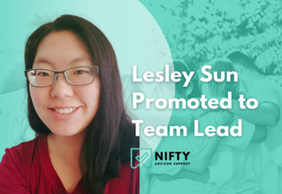 Lesley Sun, CFP® Promoted to Team Lead