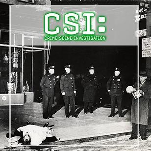 CSI - Crime Scene Investigation voorblad