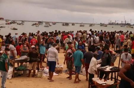 v6a6| A vida na quarentena: Deslocamentos e aglomerações de pessoas em Fortaleza