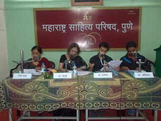 महाराष्ट्र साहित्य  परिषदेत रंगले 'डॉक्टर, तुम्हीसुद्धा' नाटकाचे अभिवाचन