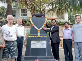 'महाराष्ट्र साहित्य परिषदेने' केले ज्ञानकोशकार केतकरांना अभिवादन