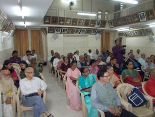 श्रद्धांजली सभा: ज्येष्ठ संशोधक आणि साहित्यिक डॉ. रा. चिं. ढेरे यांना मसापतर्फे श्रद्धांजली