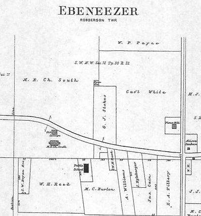Ebenezer 1904 Robberson Township Greene County