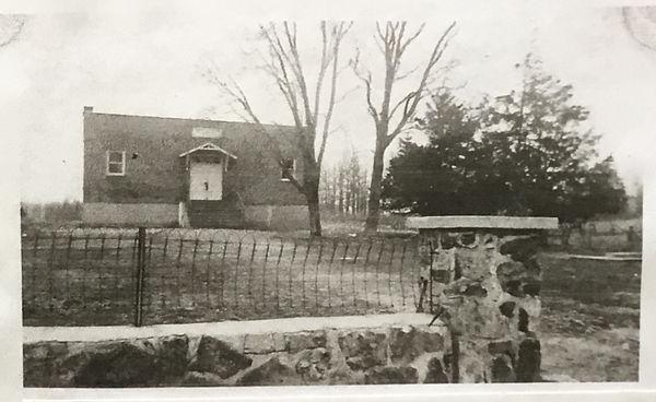 Ebenezer Grade School circa 1940s