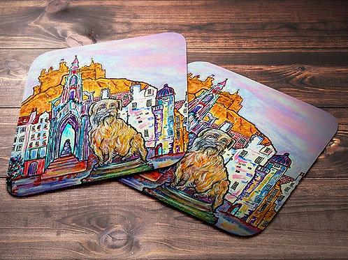 Greyfrairs Bobby Edinburgh Coaster