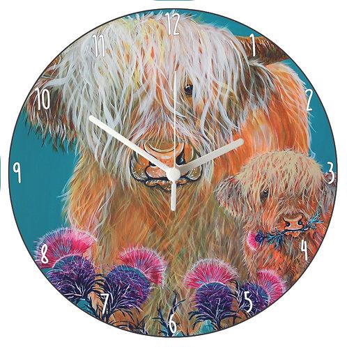 Morag & Matty Clock