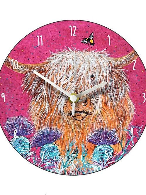 Heather Honey Clock