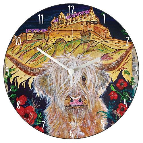 Brodie Visits Edinburgh Clock