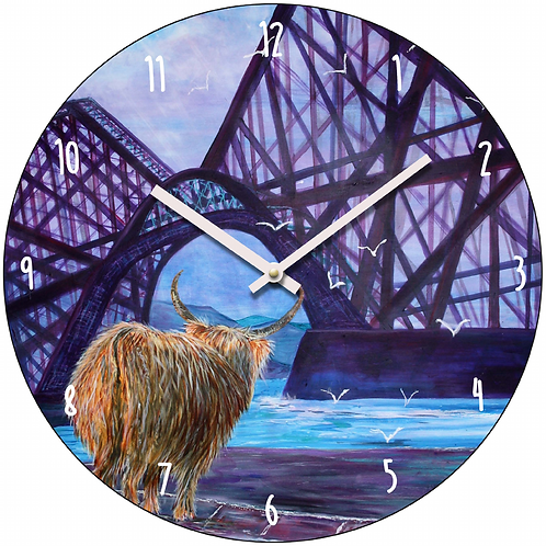 Hamish Visits Queensferrry Clock