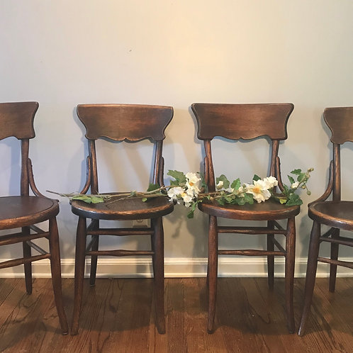 "Antique ""Lace"" Chairs (set of 4)"