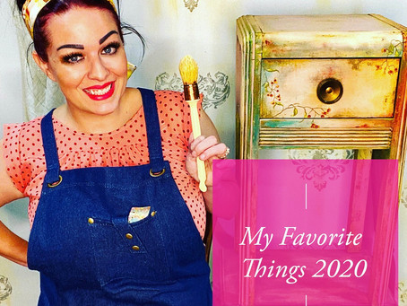 Meleah's Favorite Things  2020, Romantic Grunge Kit, Favorite Dixie Belle Paint Colors, Best Gifts