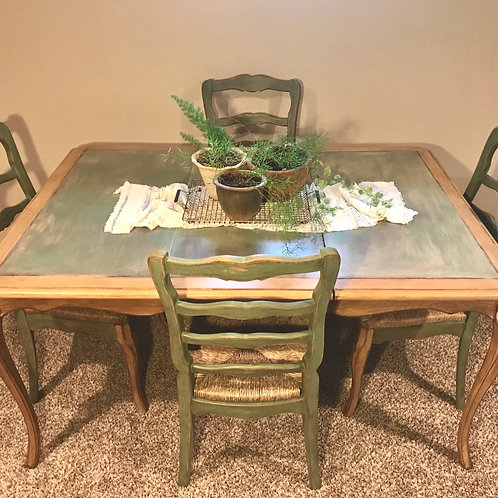French Garden Estate Dining Set