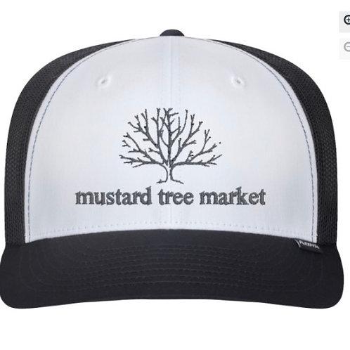 "mustard tree market ""old school trucker hat"""