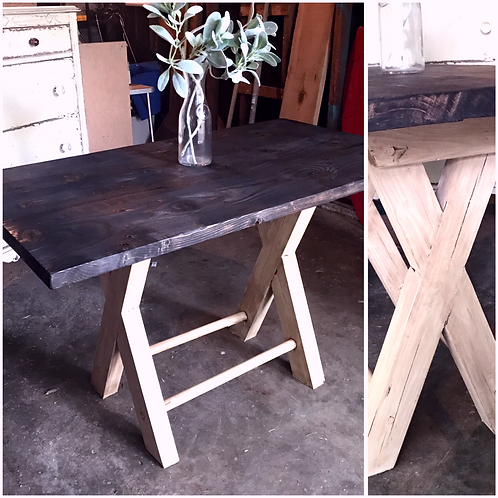 Rustic Breakfast Nook Farm Table