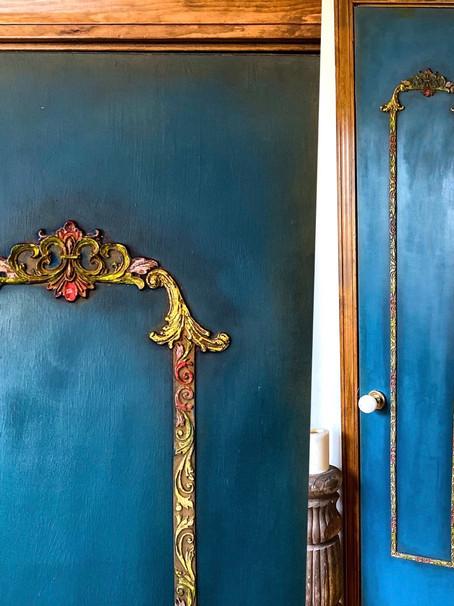 Pantry Door Makeover