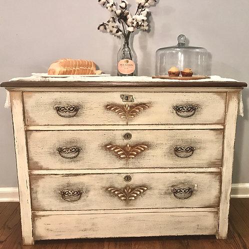 Vintage Bohemian Buffet/Sideboard/Dresser