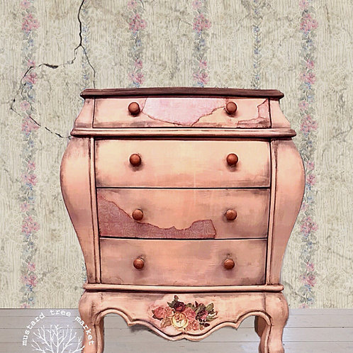 """Rose"" Romantic Grunge Bombay Chest"