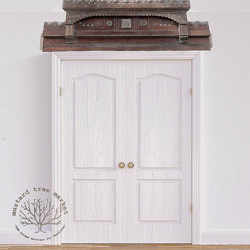 Antique Door Topper, Window Molding, Wall Art