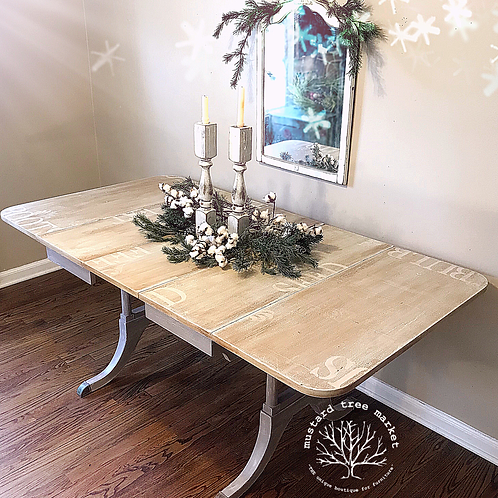 """Seed & Feed"" Farmhouse Dining Table"