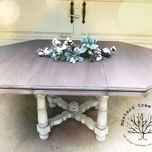 Winter Weathered Farm Table