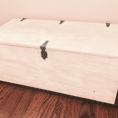 Military Chest Toy Box
