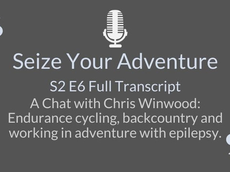 S2 E6 Chris Winwood:  Endurance cycling, backcountry and working  in adventure (AUTO TRANSCRIPT)