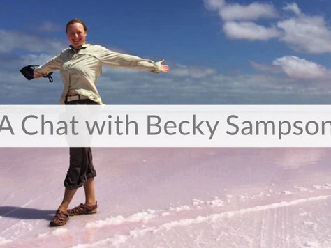 Episode 1 | A Chat with Becky Sampson: Travelling the World by Bicycle, with Epilepsy