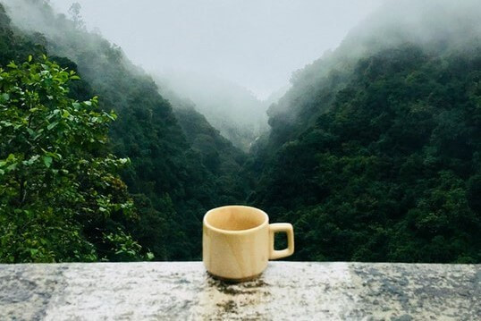 Cup of tea in the mountains from pexels