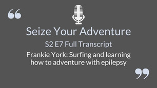 S2 E7 A LIVE Chat with Frankie York (AUTO TRANSCRIBED)