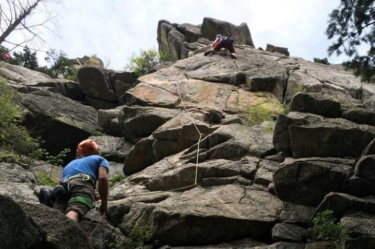 Rock climbing with epilepsy
