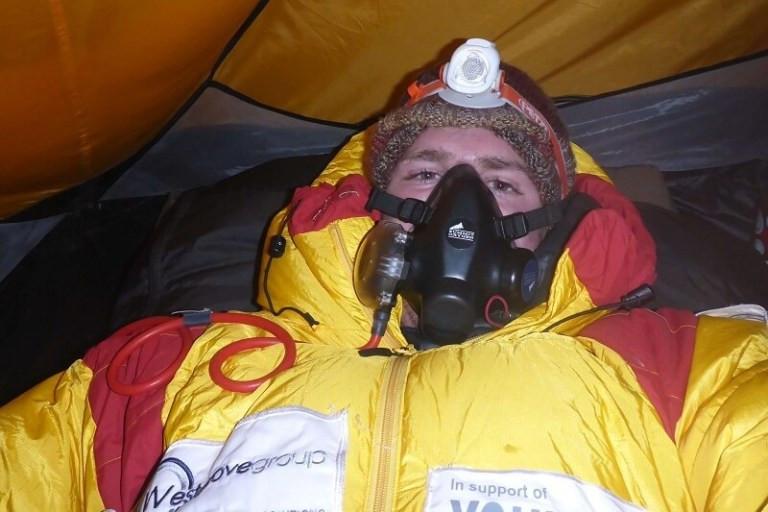 Alex Staniforth on Everest oxygen