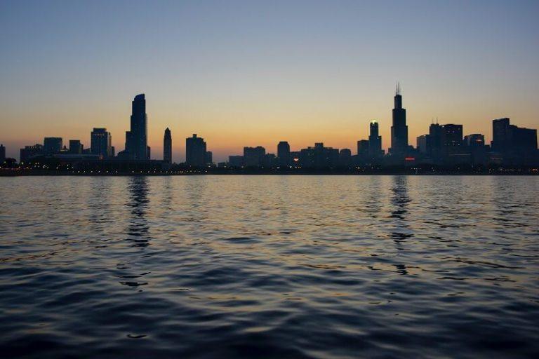 Chicago from Lake Michigan - hideobara