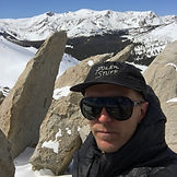 Cameron Scwartzkopf wears sunglasses, a