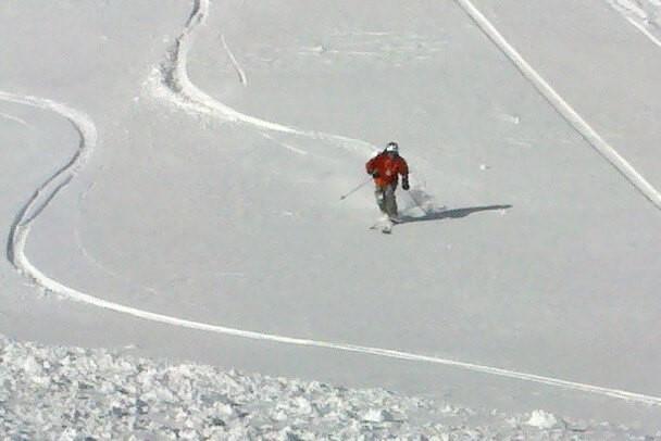 Skiing with Epilepsy fresh snow