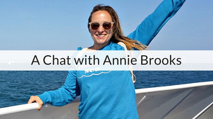 Episode 3   A Chat with Annie Brooks: Swimming, Triathlons and Races with Partial Seizures