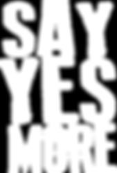 SayYesMore Logo White.png