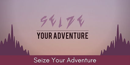 The Seize Your Adventure logo linking to Seize Your Adventure website