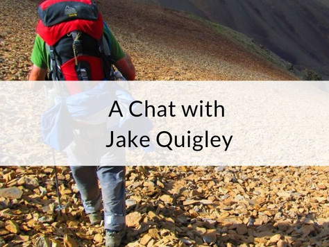 Episode 9: A Chat with Jake Quigley
