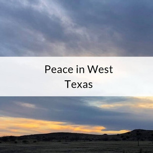 Episode 1: Peace in West Texas