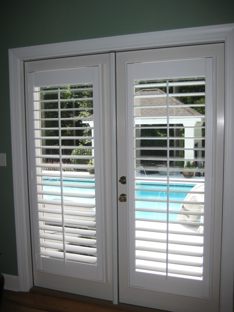French Door Plantation Shutters in Tallahassee Florida