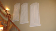 Eyebrow Specialty Shaped Shutters