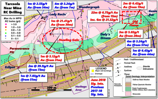Tarcoola ML Near Pit Geo & Hole Intercep