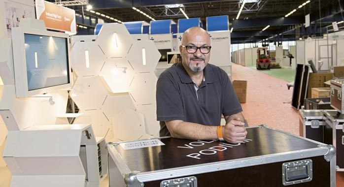 Antoine Rutigliano, gérant fondateur de Feu Follet. - © F. Ardito