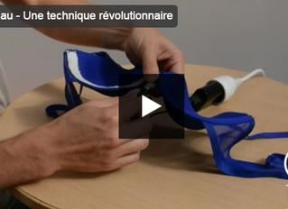 LOMA Innovation et sa technologie de matériaux plastiques déformables sur France 2 (Télématin)