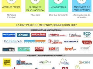 MEDI'NOV CONNECTION 2017 : Un succès au niveau médiatique !