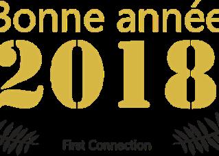 First Connection vous souhaite une merveilleuse année 2018 !