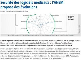 Sécurité des logiciels médicaux : l'ANSM propose des évolutions