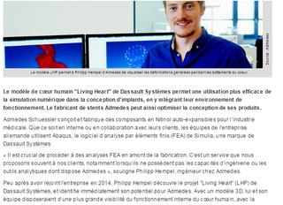 Living Heart : Un modèle à suivre pour tester des implants virtuels