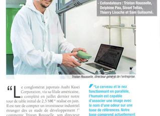 Aryballe Technologies, participant à Medi'Nov, capte 3M€ pour son nez électronique