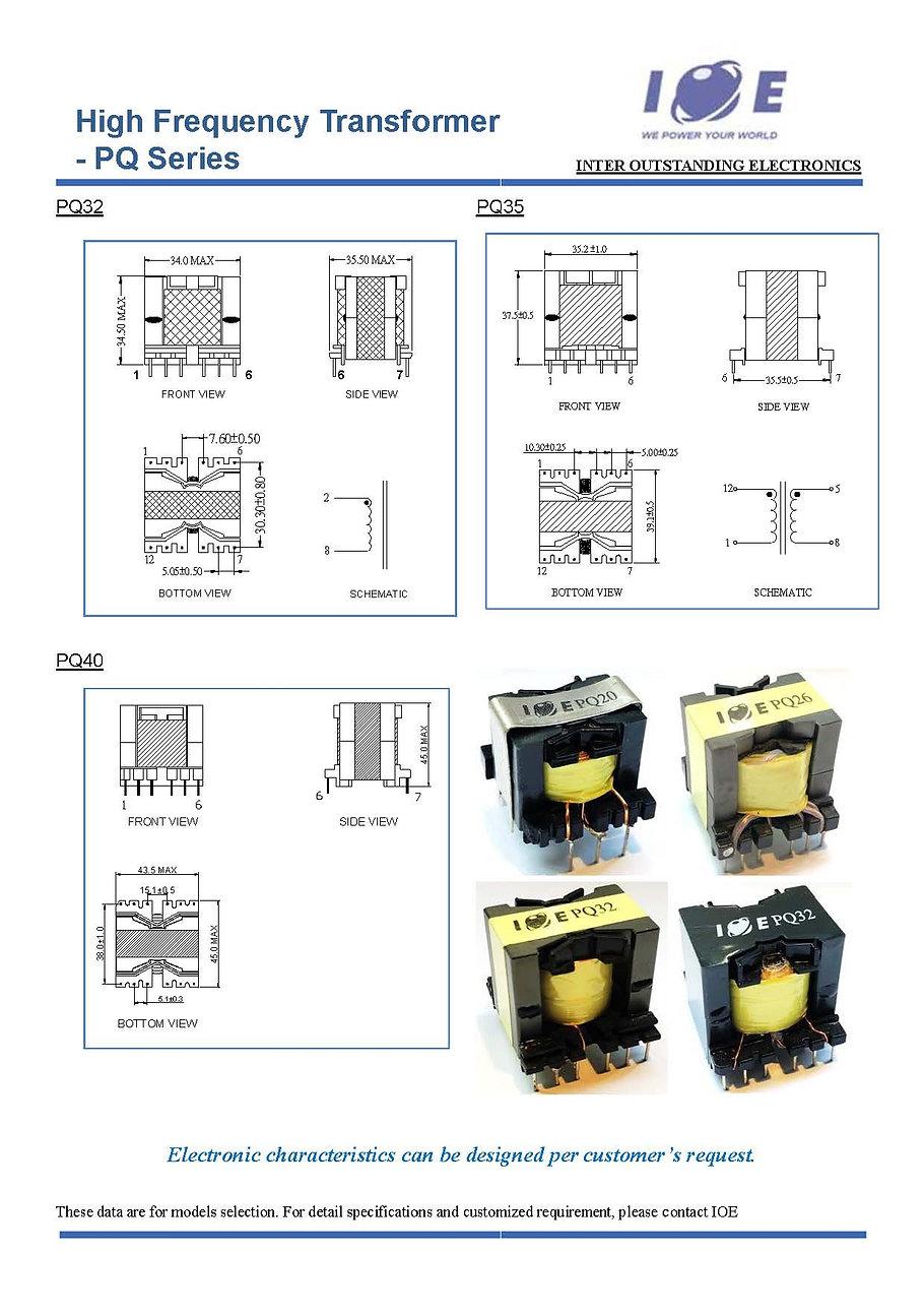 _Short form - High Frequency Transformer